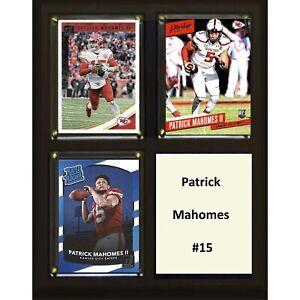 NFL-8-034-x10-034-Patrick-Mahomes-Kansas-City-Chiefs-Three-Card-Plaque