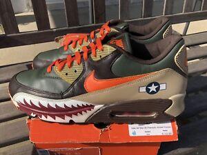 85b84257016 Nike Air Max 90 Premium Warhawk Armed Forces Patta Atmos 315728-381 ...