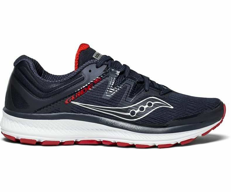 Saucony S20415-3 Guide ISO Navy Red Men's Running shoes