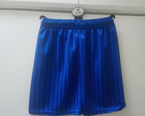 Boys blue shadow stripe shorts 3//4 4//5 9//10 /& 11//12 years