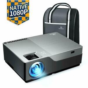 """VANKYO V600 Natif 1080P Full HD Projecteur 300 """" LED HDMI USB Scellé"""