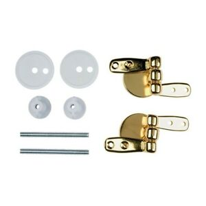 Homebase Replacement Toilet Seat Hinges Pack For Wooden