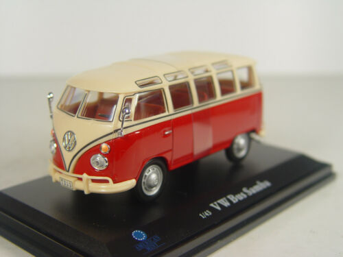 Gebr. VW samba bus-American Mint modelo 1:43-3044370 #e