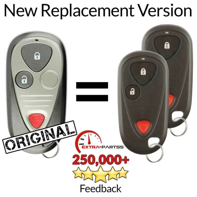 2 For OUCG8D-355H-A Acura RSX Keyless Entry Remote Car Key