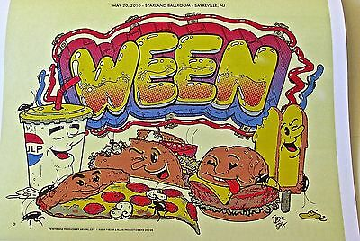 Ween Concert Poster 14 x 10 Reprint
