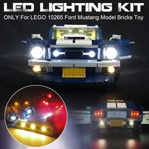 USB-LED-Light-Lighting-Kit-Only-For-LEGO-10265-For-Ford-Mustang-Model-Bricks