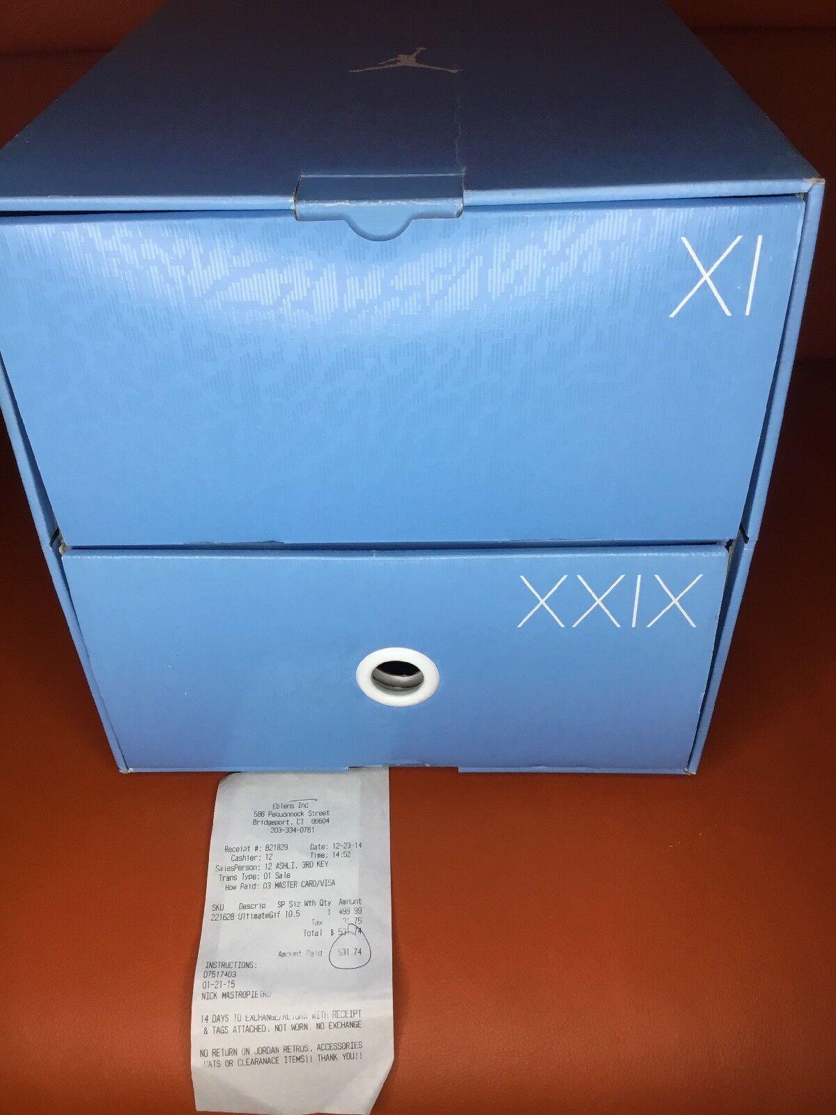 NIKE AIR Jordan Gift of Flight Pack DS 10.5 Receipt Authentic