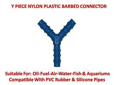 Nylon Barbed Silicone Hose Connector Tefen Fuel Pipe Joiner Water