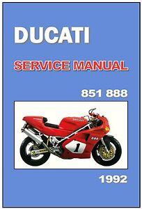 image is loading ducati-workshop-manual-851-888-888sp-888sps-1992-