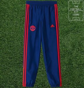 ddcf66bb63d Image is loading Manchester-United-Tracksuit-Bottoms-Official-adidas-Man-Utd -