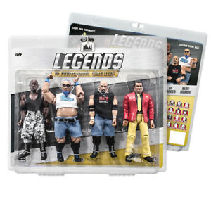 Legends-of-Professional-Wrestling-Series-Action-Figures-Series-1-Four-Pack
