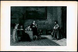 The-Letter-of-Introduction-Arture-Ricci-1880-039-s-photogravure-print