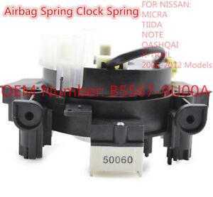 Steering-Wheel-Airbag-Hairspring-Clock-Spring-OEM-B5567-9U00A-FOR-Nissan-Micra