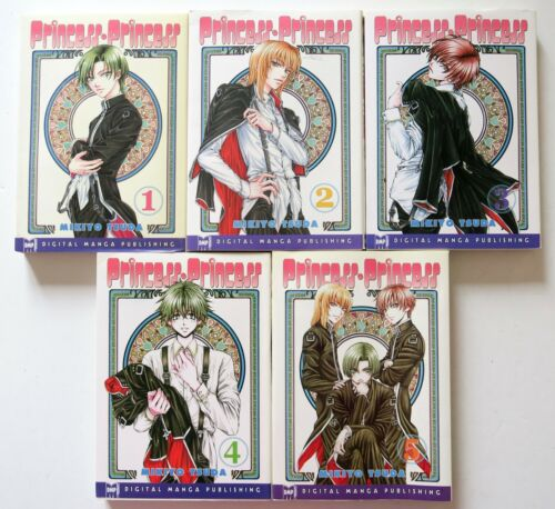 Princess Princess Vol 1 2 3 4 /& 5 Mikiyo Tsuda DMP Manga Novel Comic Book