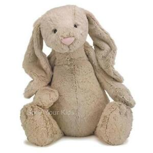 jellycat bashful bunny huge 51cm rabbit soft teddy bear toy beige