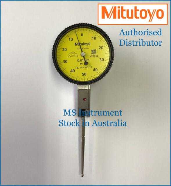 Genuine Mitutoyo 513-415T Dial Test Indicator |Full Set | Australia Stock