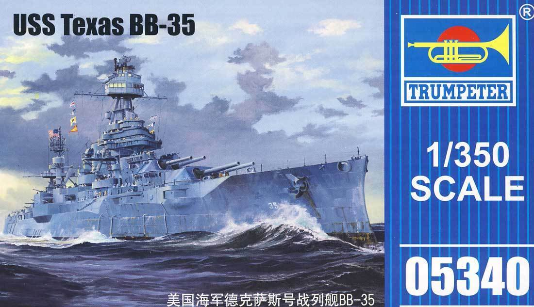 Trumpeter USS Texas bb-35 New York Class Battleship 1  3 50 Acorazado