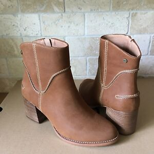 cc00bbf077a Details about UGG ANNIE CHESTNUT FASHION LEATHER ZIP/ ANKLE BOOTIES BOOTS  SIZE 10 WOMENS