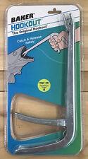 """Baker H9Z Shorty Hookout Non-Slip 9.5/"""" Stainless Steel Fishing Tool"""