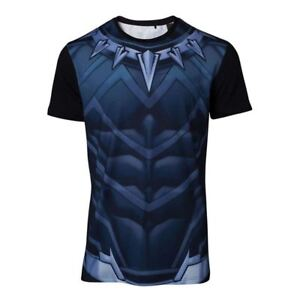 Noir Panther Cosplay T-Shirt Multicolore Grand (TS764820MVL-L)