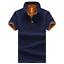 Men-039-s-Fashion-Slim-Short-Sleeve-Shirt-T-shirt-Casual-Tops-Blouse-Tee-Shirts-Men thumbnail 9