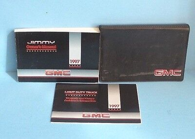 97 1997 GMC Jimmy owners manual Car & Truck Manuals Other Car ...