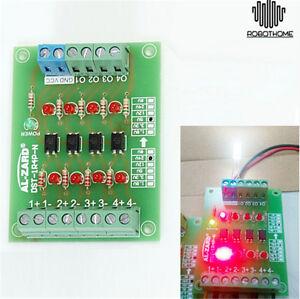 4Bit-Optocoupler-Isolator-5V-to-24V-PLC-Signal-Converter-Board-72-55-18mm