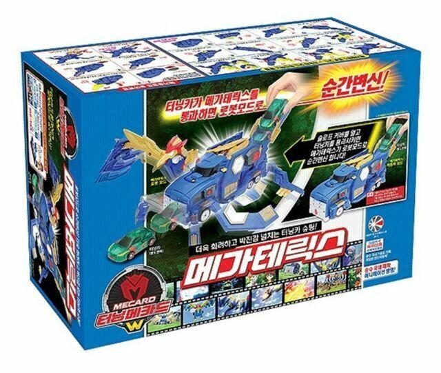 Turning Mecard W MEGA TERICS Great Transformer Korean Robot Car Toy Sonokong