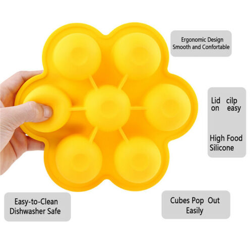 Weaning Baby Food Freezer Tray Pots Storage Container Tool Practical T