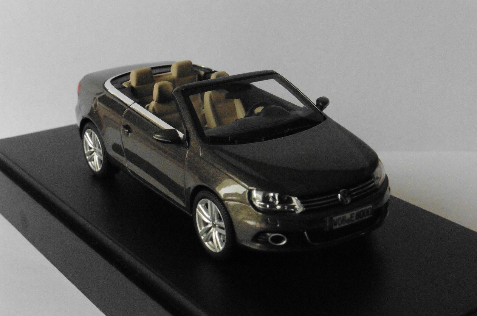 VW VOLKSWAGEN EOS CABRIOLET 2012 marron METAL KYOSHO 1Q1099300B9A 1 43 MARROON