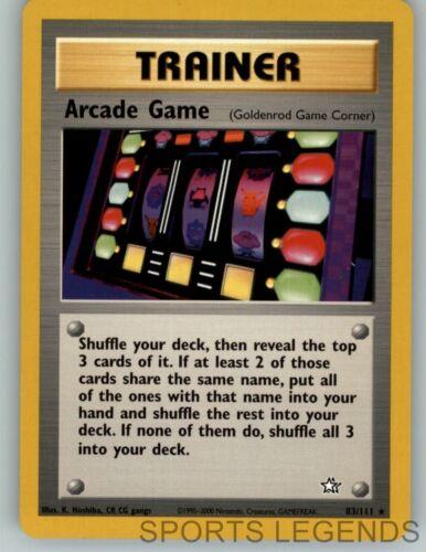 2000 pokemon Neo Genesis rare Arcade Game 83//111