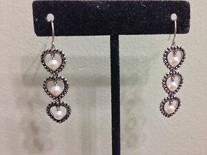Honora-Sterling-Silver-And-Pearls-Earrings