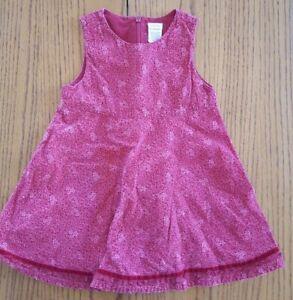 20d048d95ede Gymboree Toddler girl red corduroy jumper dress 18-24 months EUC | eBay