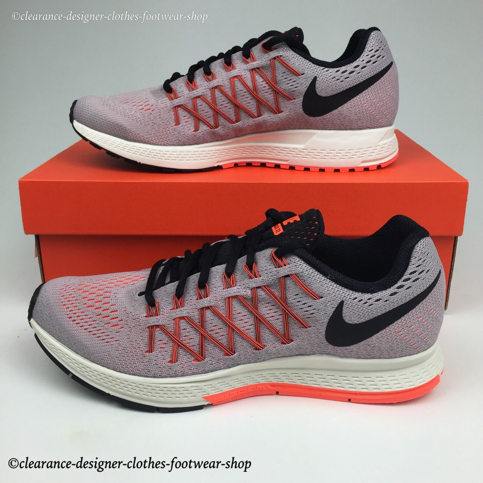 NIKE AIR ZOOM PEGASUS 32 TRAINERS femmes RUNNING CROSS FIT GYM SHOE100