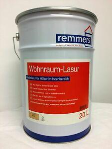 €8,75/L Remmers Wohnraumlasur farblos 20 L Lasur Innenraum Holz innen Farblos