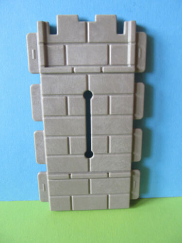 Playmobil Wand Mauer mit Schiesscharte zu Ritterburg 3667 3666 3123 3030 3450