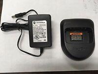 Motorola Bpr40 A8 A6 Magone Rapid Battery Charger Pmln4685 Pmln4822 Pmln4682