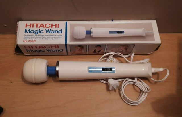 Hitachi Magic Wand Two Speed Vibrating Massager Hv-250r