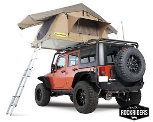 Image is loading Jeep-Wrangler-JK-TJ-YJ-Smittybilt-Overlander-Roof-  sc 1 st  eBay : roof top tent for jeep wrangler - memphite.com