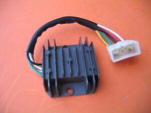 voltage regulator rectifier honda 150cc atv bike 5 wire ebay rh ebay com
