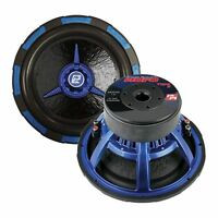 Power Acoustik 12 Woofer Dual 2 Ohm 2500w Max