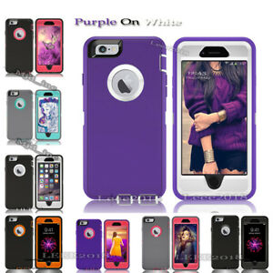 wholesale dealer ceccf e56a5 Details about Full protection Defender Rugged Case iphone se /5s 5C Cover  (Clip Fits Otterbox)