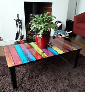 Image Is Loading Style Coffee Table Modern Living Room