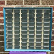 Vintage Akro Mils 60 Drawer Metal Hardware Storage Cabinet Organizer