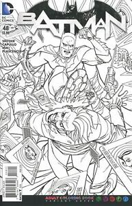 DC-Batman-48-Comic-Adult-Coloring-Book-Cover-Variant-2016-Snyder-NM