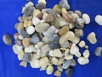 5 Pound Bag Of Decorative Mini River Rock Accent Stones Candles Vases Fountains