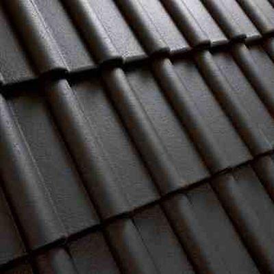 Fürs Dach Benders Dachziegel Dachsteine Beton*klassiker*schwarz 1.sorte 30jahre Garantie Noch Nicht VulgäR