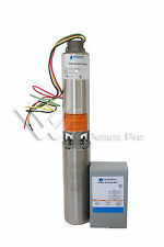 """40GS15412C Goulds 40GPM 1.5HP 4""""Submersible Water Well Pump & Motor 230V 3 wire"""