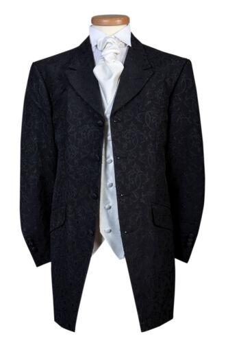 3 Wedding Off Designer Jacket Swirl Black Mens Lightweight Length 70 4 Suit qYHxn4zH