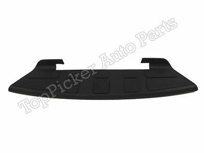 For 98-04 Sonama S10 Pickup Fleetside Rear Step Bumper Upper Center Pad Gray